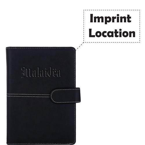 Notebook Diary Hardback 100 Sheets Imprint Image