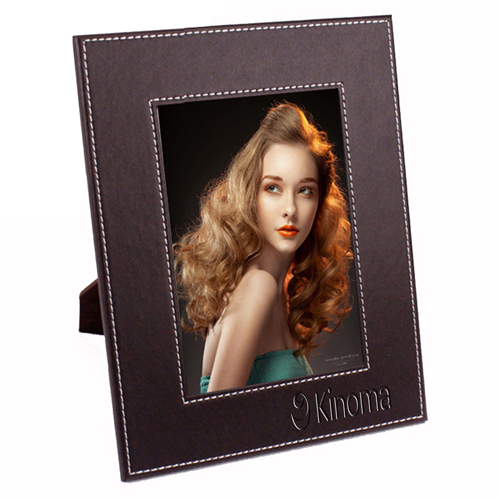 Creative Leather 7 Inch Photo Frame Image 1