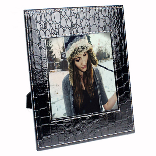 Creative Leather 7 Inch Photo Frame Image 2