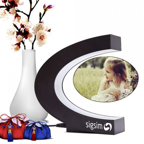 Magnetic Levitation Floating Photo Frame