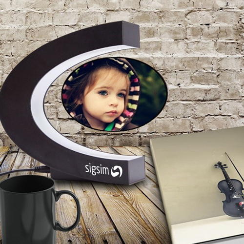 Magnetic Levitation Floating Photo Frame Image 1