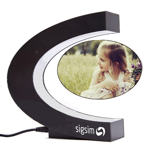 Magnetic Levitation Floating Photo Frame Image 2