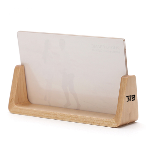 U Style 6 Inch Wood Photo Frame Image 2