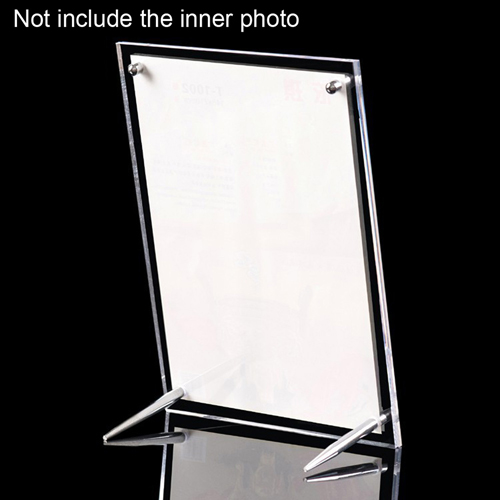 Double-Sided Clear Photo Frame Image 2