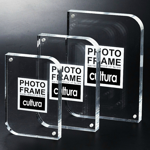 Clear Magnetic Photo Frame Image 4