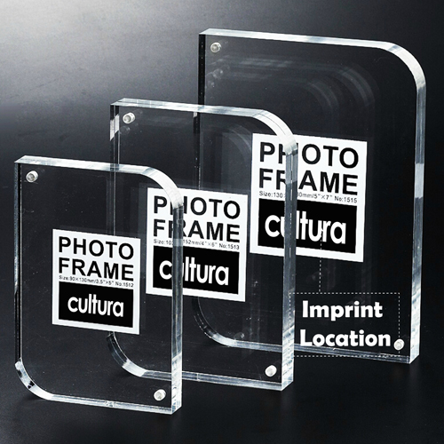 Clear Magnetic Photo Frame Imprint Image