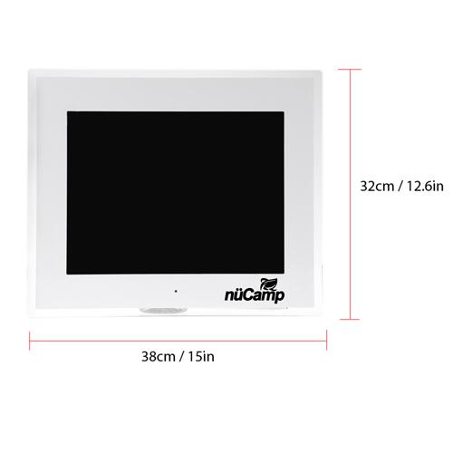 LCD Digital Photo Frame Alarm Image 3