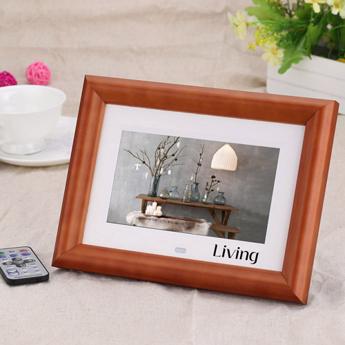 LCD Digital Photo Frame Desktop Image 1