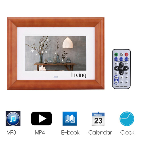 LCD Digital Photo Frame Desktop Image 3