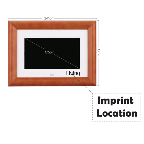 LCD Digital Photo Frame Desktop Imprint Image