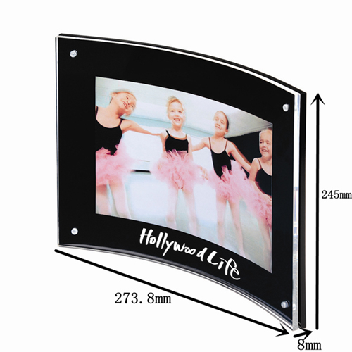 Curved Magnetic Photo Frame Image 1