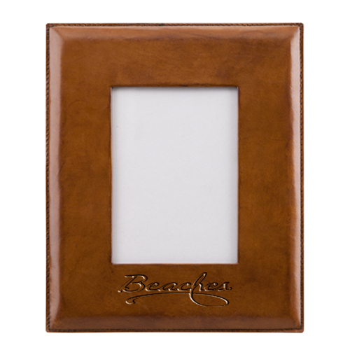 Handmade Leather Picture Frame  Image 1