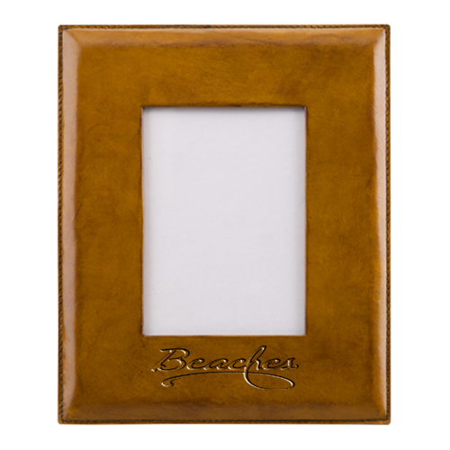 Handmade Leather Picture Frame  Image 2