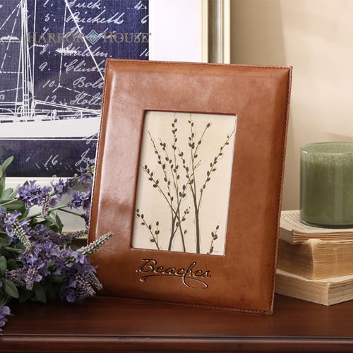 Handmade Leather Picture Frame