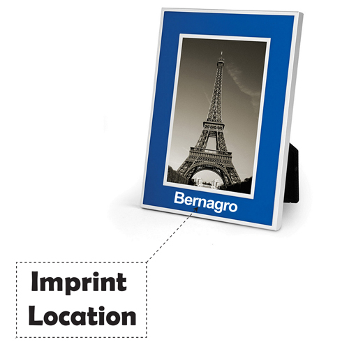 Silver Metal Picture Frames Imprint Image