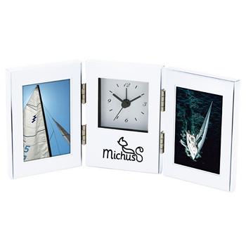 Essentials Clock And Photo Frame