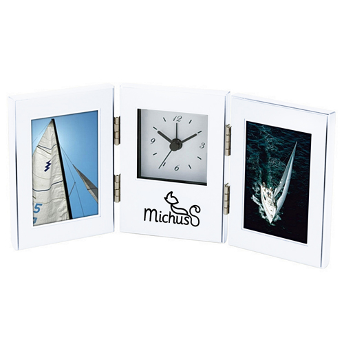 Essentials Clock And Photo Frame