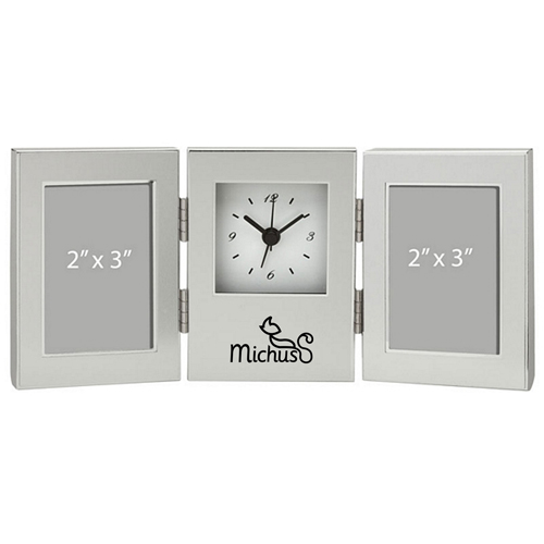 Essentials Clock And Photo Frame Image 1