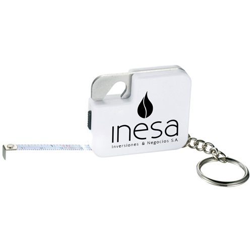 Multi Function Tape Measure Keychain Image 2