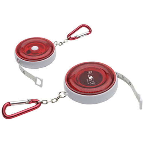 Round Carabiner Tape Measure Image 2