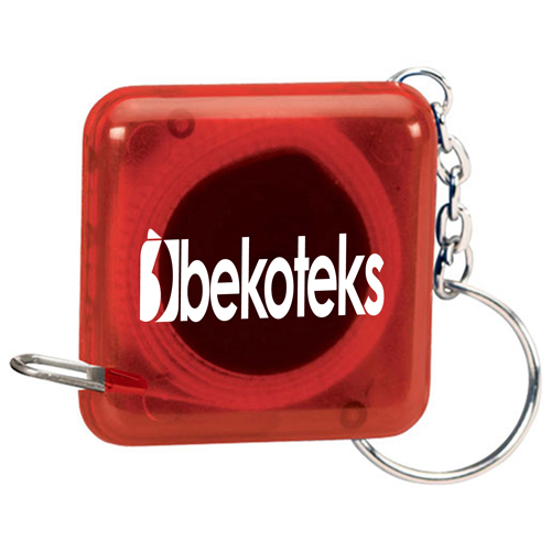 Square Shape Tape Measure Key Holder Image 3