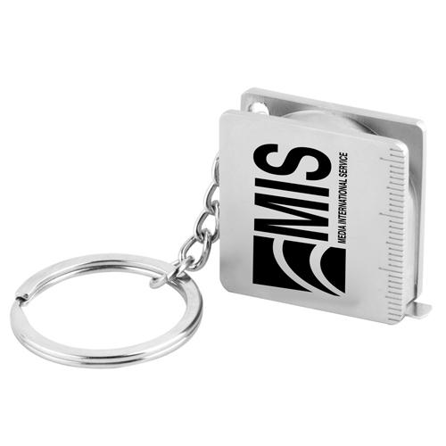 Pocket Tape Measure Keychain
