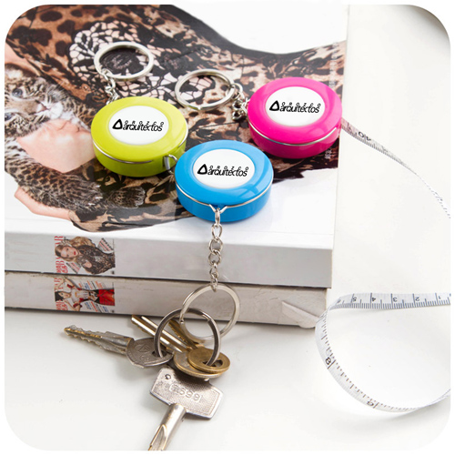 Plastic Mini Tape Measure Keychain Image 4