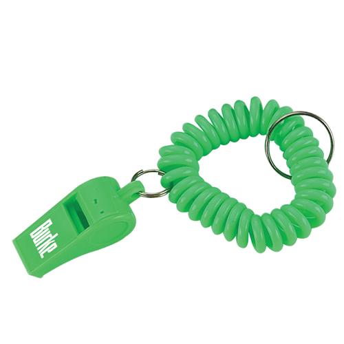 Whistle Wristband Coil Bracelet Key Chain Image 2