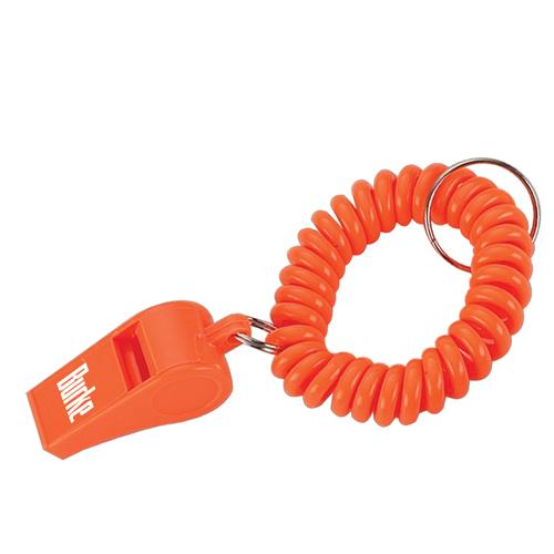 Whistle Wristband Coil Bracelet Key Chain Image 3