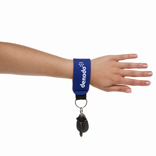 Stretchable Neoprene Strap Keychains Image 1