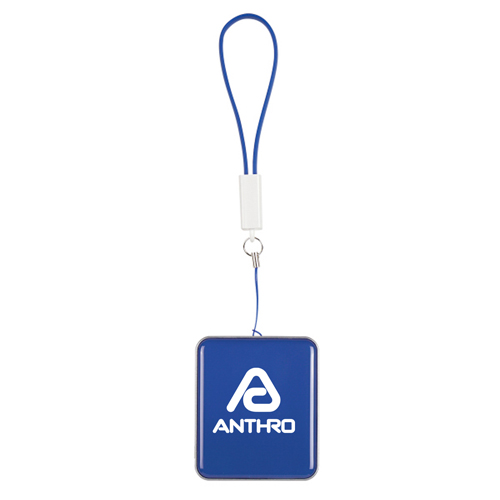 Power Bank Keychain With Cable Strap Image 1