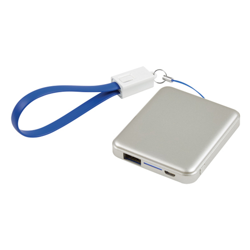 Power Bank Keychain With Cable Strap Image 4