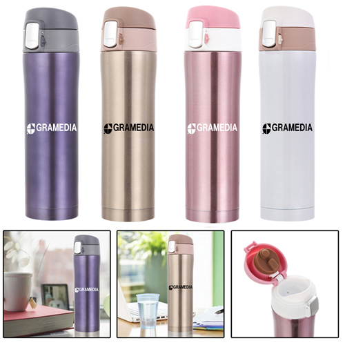 Stainless Steel Flask With Insulation Cup Image 4