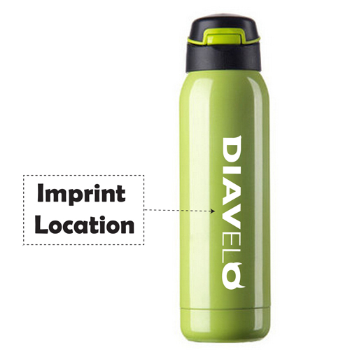 Stainless Steel Outdoor Climbing Bottle Imprint Image