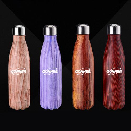 Stainless Steel 500 Milliliter Vacuum Bottle Image 1