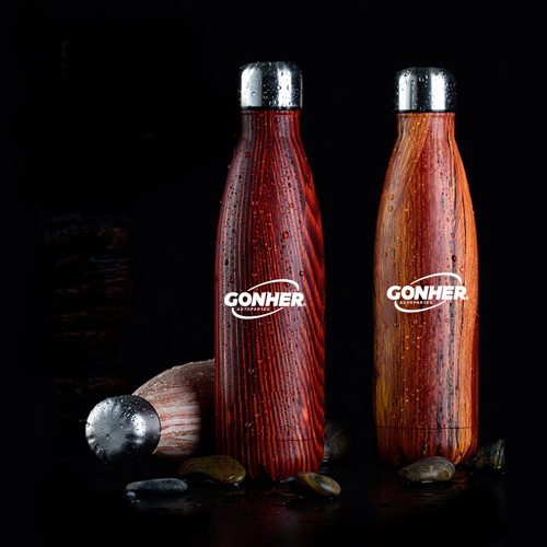 Stainless Steel 500 Milliliter Vacuum Bottle Image 2