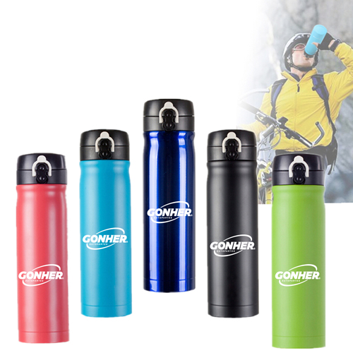 Outdoors Double Layer Thermal Insulation Bottle