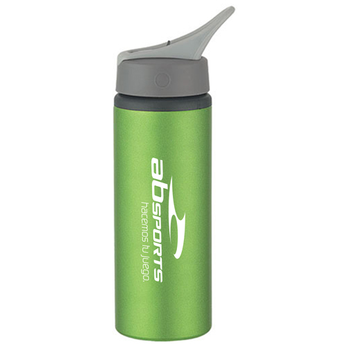 Metallic Aluminum Bike Bottle Image 3