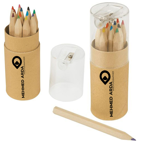 Color Pencil Tube 12 Pieces