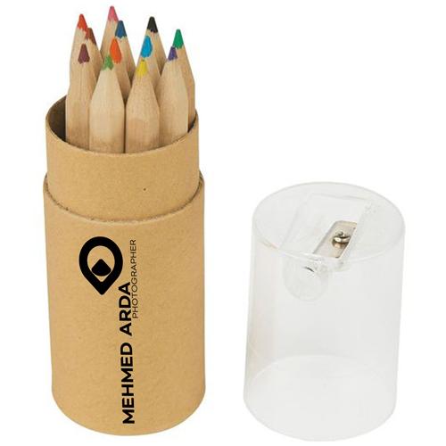 Color Pencil Tube 12 Pieces Image 2