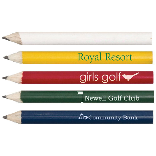 Sports Golf Round Pencils Image 4