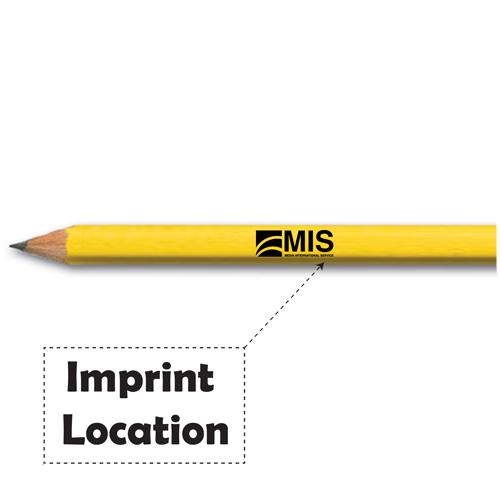 Sports Golf Hex Pencils Imprint Image