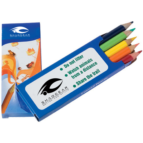 Colored 5 Pencils Pack