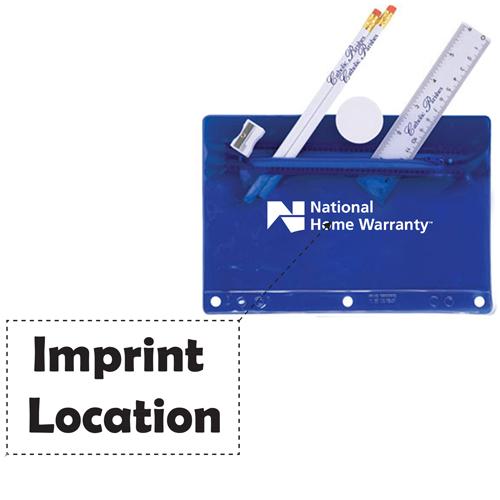Deluxe Translucent School Kit Imprint Image