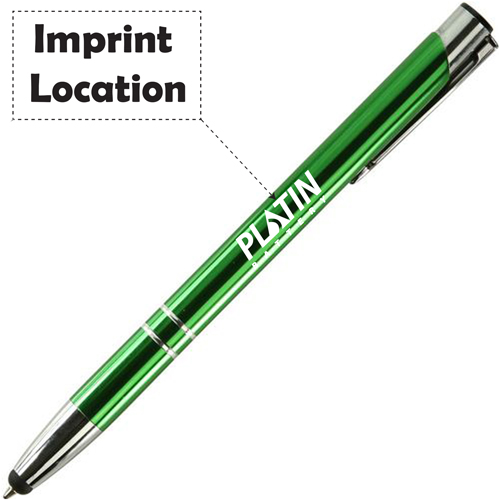 Retractable Electra Stylus Pen Imprint Image