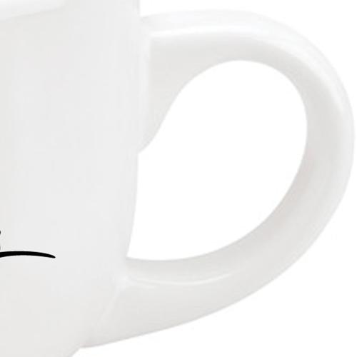 Ironstone Ceramic Latte Mug Image 2