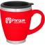Stainless Steel Liner Ceramic Coffee Mug