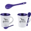 Matching Spoon Ceramic Mug
