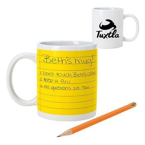 Stoneware Notepad Mug