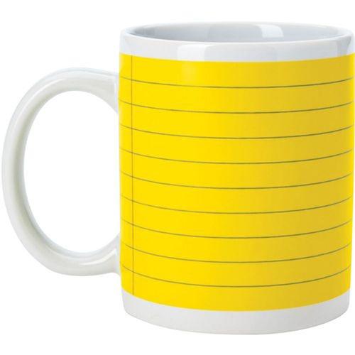 Stoneware Notepad Mug Image 1